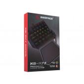 Tipkovnica Mini KB-R77, LED osvjetljenje, mehanička, crna, Rampage