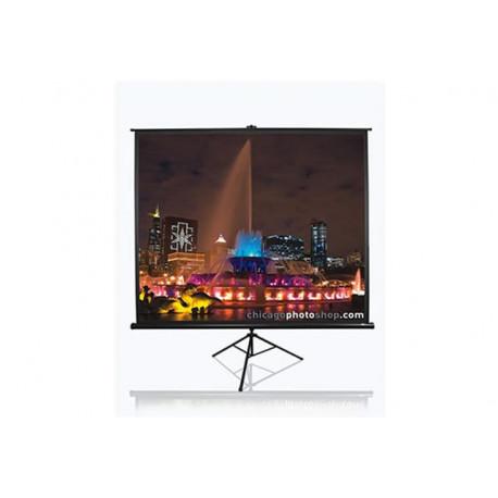EliteScreens projekcijsko platno sa stalkom 153x153cm