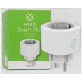 WOOX WiFi Smart utičnica, 16A/3680W, Tuya smart app, glasovna kontrola - Alexa & Google Assistant, Wi-Fi kontrola, Timer