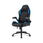 Sharkoon Elbrus 1, igraća stolica, crno-plava