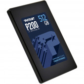 Patriot SSD P200 R530/W460, 512GB, 7mm, 2.5""