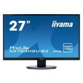 "IIYAMA Monitor  27"" 1920x1080, 4ms, AMVA+ panel, 300cd/m², VGA, DisplayPort, HDMI, Speakers,  USB-HU"