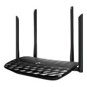 AC1200 Dual-Band Wi-Fi Router, 867Mbps at 5GHz + 300Mbps at 2.4GHz,  5 Gigabit Ports, 4  antennas, B