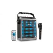 Oprema za mobitel, zvučnik karaoke Bluetooth MD-71KP, sivi, Mikado