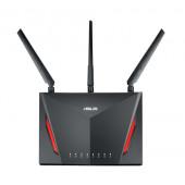 ASUS RT-AC86U Router (2,4 GHz / 5 GHz) Gigabit Ethernet Crno
