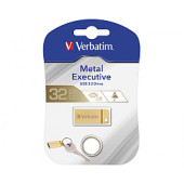 Verbatim USB3.0 Store'n'Go Metal Executive 64GB, zlatni
