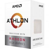 AMD CPU Desktop 2C/4T Athlon 3000G (3.5GHz,5MB,35W,AM4) box, with Radeon Vega 3 Graphics