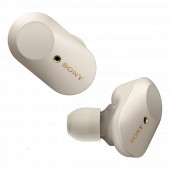 Sony WF-1000XM3, bežične slušalice, srebrne