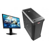"""MSGW Home Gamer+ a361 + Monitor Asus 24"""" VG248QG"""