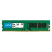 Crucial DRAM 16GB DDR4 3200 MT/s (PC4-25600) CL22 DR x8 Unbuffered DIMM 288pin, EAN: 649528790101