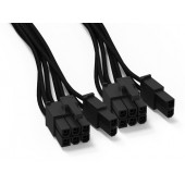 be quiet! PCIe Dual-Kabel za modularna napajanja