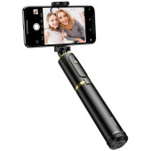 Selfie stick BASEUS SelfieSTAR PRO, Fully Folding (black-gold)