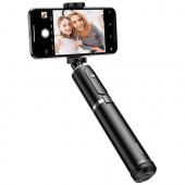 Selfie stick BASEUS SelfieSTAR PRO, Fully Folding (black-silver)