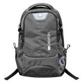 CANYON Backpack for 15.6'' laptop, dark gray (Material: 840D Nylon)