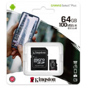 Kingston MicroSDHC Class10 64GB