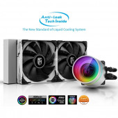 DeepCool CASTLE 240EX WHITE, water cooling (white / black)