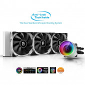 Deep Cool CASTLE 360EX WHITE, water cooling (White)