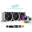 DeepCool CASTLE 360EX WHITE, water cooling (White)