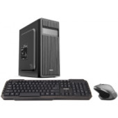 CRATOS OFFICE v2 MT 500W PC - Intel i3-8100, 4GB DDR4, 240GB SSD, Intel UHD, DVDRW, Win 10 Pro + tipkovnica/miš