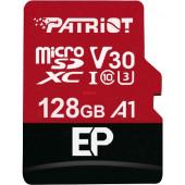 Patriot EP 128 GB microSDXC, (black / red, A1, UHS-I (U3), Class 10)