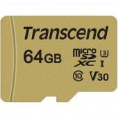 Transcend microSDXC Card 64GB, memory card (Class 10, UHS-I U3, V30)