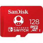SanDisk Nintendo Switch 128 GB microSDHC, (red, UHS-I U3, V30)
