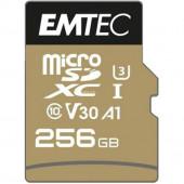 Emtec speedin PRO 256 GB microSDXC (Class 10, UHS-I (U3), V30)