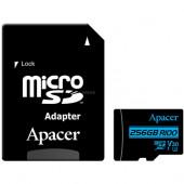 Apacer microSDXC 256 GB,  (UHS-I (U3), Class 10, V30)