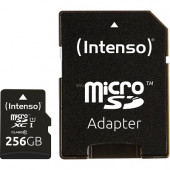 Intenso Premium 256 GB microSDHC (Black, Class 10 UHS-I)