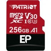 Patriot EP Series 256 GB microSDXC, (red / black, UHS-I U3, A1, Class 10)