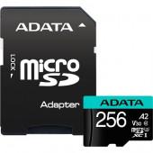 ADATA Premier Pro 256 GB microSDXC, (Class 10, UHS-I U3, V30, A2)