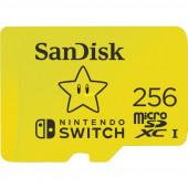 SanDisk Nintendo Switch 256 GB microSDHC, (yellow, UHS-I U3, V30)