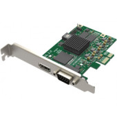 Magewell Pro capture HDMI, LP PCIe x1, 1-channel HDMI/S-Video/YPbPr/CVBS, plus 1 unbalanced stereo audio, Windows/Linux/