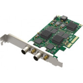 Magewell Pro capture dual SDI, LP PCIe x4, 2-channel SD/HD/3G/2K SDI, two channels bypass loop, Windows/Linux/Mac (11060