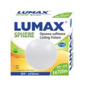 LED Plafonjera Lumax Sphere LO1820S Senzor - 18W, 1470lm, 3000K