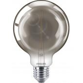 Philips LED žarulja, E27,G200,  smoky, 25W, 4000K