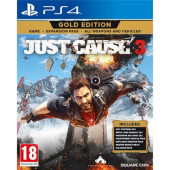 GAME PS4 igra Just Cause 3 Gold Edition