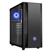 SilverStone FARA B1 RGB Tower ATX Gaming Computer Case, Aggressive intake high Airflow Performance,