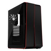 SilverStone REDLINE RL07 Midi Tower ATX Gaming Computer Case, Silent High Airflow Performance,  Full