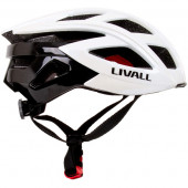 Smart cycling helmet LIVALL BH60SE, size L (55-61cm), white