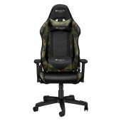 Gaming chair, PU leather, Original foam and Cold molded foam, Metal Frame, Butterfly mechanism, 90-1