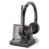 Plantronics Savi W8220/A, UC Slušalice Obruč za glavu Crno