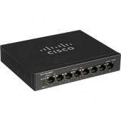 Cisco 8-Port Unmanaged GbE RJ45 w 4 PoE ports Desktop switch.