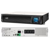 APC Smart-UPS C 1500VA LCD RM 2U 230V SmartConnect