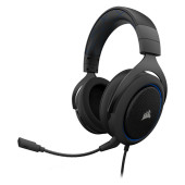 CORSAIR HS50 PRO STEREO Gaming Headset, Blue (EU Version)