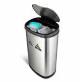 50L Touchless smart trash bin K13R-50L (waste sorting)