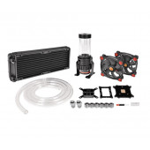 Thermaltake Pacific Gaming R240 D5 Water Cooling Kit, water cooling (Black / Red)