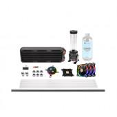 Thermaltake Pacific M360 D5 Hard Tube Water Cooling Kit, water cooling (Black)