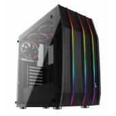Case Aerocool KLAW, ATX / Mid Tower / stransko okno / RGB osvetlitev (black)