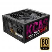 PSU Aerocool KCAS 750GM, 750W / RGB READY / semi-modular